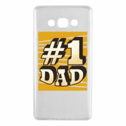 Чехол для Samsung A7 2015 Dad number one