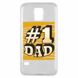Чехол для Samsung S5 Dad number one