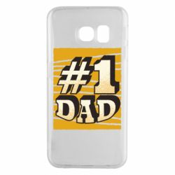 Чехол для Samsung S6 EDGE Dad number one