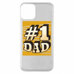 Чехол для iPhone 11 Dad number one