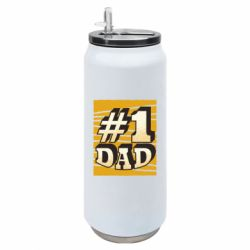 Термобанка 500ml Dad number one