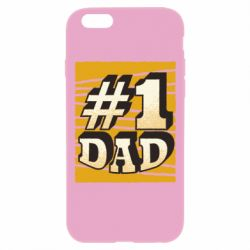 Чехол для iPhone 6 Plus/6S Plus Dad number one