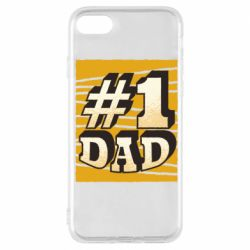 Чехол для iPhone 7 Dad number one
