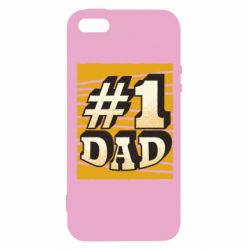 Чехол для iPhone5/5S/SE Dad number one