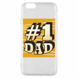 Чехол для iPhone 6/6S Dad number one