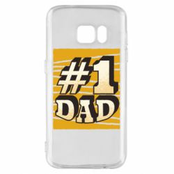 Чехол для Samsung S7 Dad number one