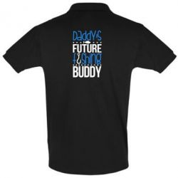 Купить Футболка Поло Daddy's future fishing buddy, FatLine