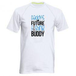 Купить Мужская спортивная футболка Daddy's future fishing buddy, FatLine