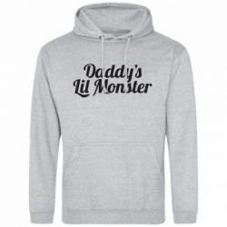 Мужская толстовка Daddy's Lil Monster - FatLine