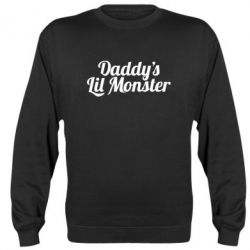 Реглан (свитшот) Daddy's Lil Monster - FatLine