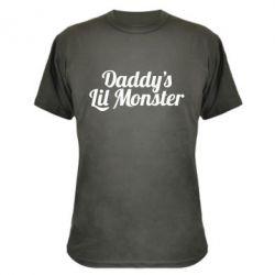 Камуфляжная футболка Daddy's Lil Monster