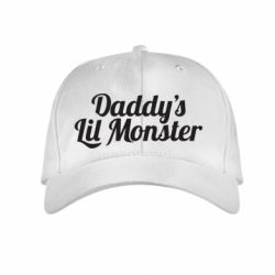 Детская кепка Daddy's Lil Monster - FatLine