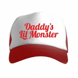 Кепка-тракер Daddy's Lil Monster - FatLine