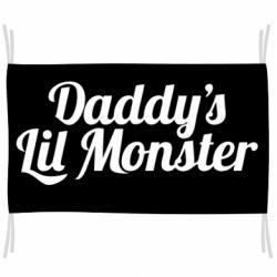 Прапор Daddy's Lil Monster