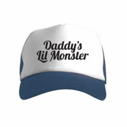 Дитяча кепка-тракер Daddy's Lil Monster