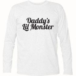 Футболка с длинным рукавом Daddy's Lil Monster - FatLine
