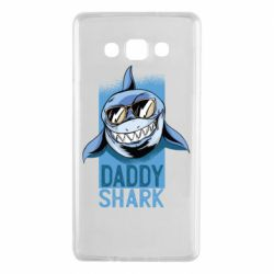 Чехол для Samsung A7 2015 Daddy shark