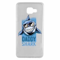 Чехол для Samsung A7 2016 Daddy shark