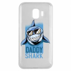 Чехол для Samsung J2 2018 Daddy shark