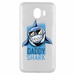 Чехол для Samsung J4 Daddy shark