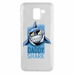 Чехол для Samsung J6 Daddy shark
