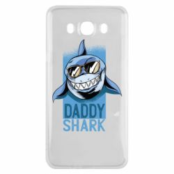 Чехол для Samsung J7 2016 Daddy shark