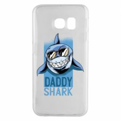Чехол для Samsung S6 EDGE Daddy shark