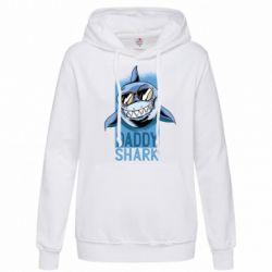 Толстовка жіноча Daddy shark