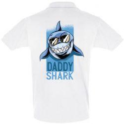 Футболка Поло Daddy shark