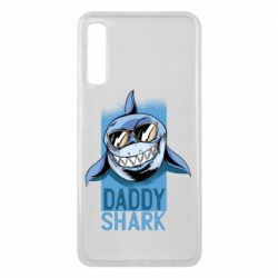 Чехол для Samsung A7 2018 Daddy shark