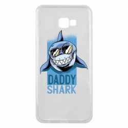 Чехол для Samsung J4 Plus 2018 Daddy shark