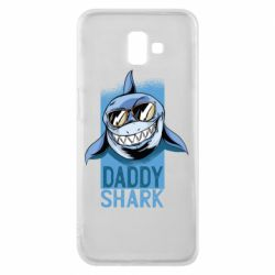 Чехол для Samsung J6 Plus 2018 Daddy shark