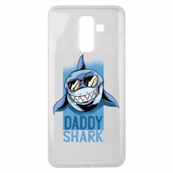 Чехол для Samsung J8 2018 Daddy shark