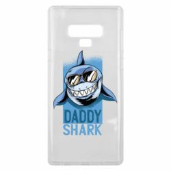 Чехол для Samsung Note 9 Daddy shark