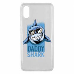 Чохол для Xiaomi Mi8 Pro Daddy shark