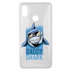 Чохол для Xiaomi Mi Max 3 Daddy shark