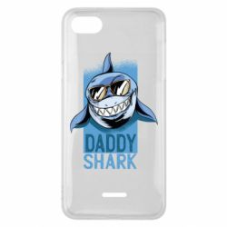 Чехол для Xiaomi Redmi 6A Daddy shark