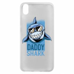Чехол для Xiaomi Redmi 7A Daddy shark