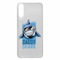 Чехол для Samsung A70 Daddy shark