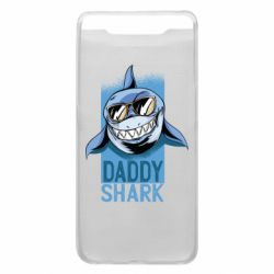 Чехол для Samsung A80 Daddy shark