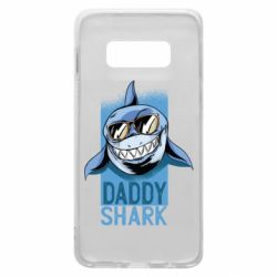 Чехол для Samsung S10e Daddy shark