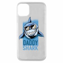 Чехол для iPhone 11 Pro Daddy shark
