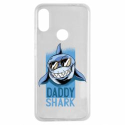 Чехол для Xiaomi Redmi Note 7 Daddy shark