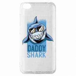 Чехол для Xiaomi Redmi Go Daddy shark