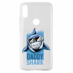 Чехол для Xiaomi Mi Play Daddy shark