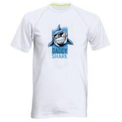 Чоловіча спортивна футболка Daddy shark
