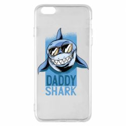 Чехол для iPhone 6 Plus/6S Plus Daddy shark