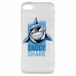 Чехол для iPhone5/5S/SE Daddy shark