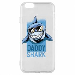 Чехол для iPhone 6/6S Daddy shark