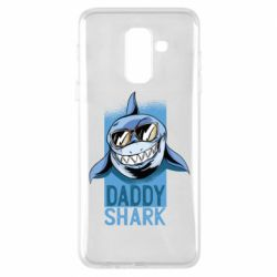 Чехол для Samsung A6+ 2018 Daddy shark